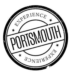 Portsmouth stamp rubber grunge vector