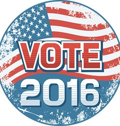 US Election Banner vector image