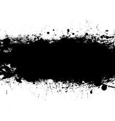 ink splats vector image