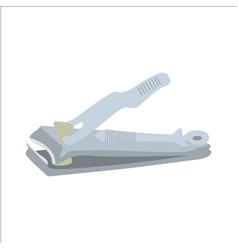 A nail cutter which is usually used to clean vector
