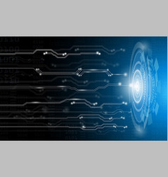 abstract background concepttechnology and science vector image