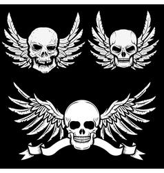 Biker logos22 vector