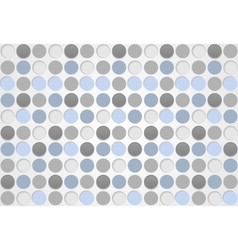 Blue and grey circles pattern design vector