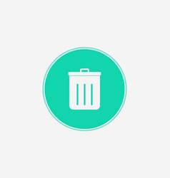 garbage icon sign symbol vector image