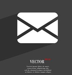 Mail Envelope Message icon symbol Flat modern web vector image