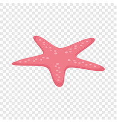 starfish isometric icon vector image