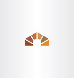 dog house logo icon element vector image