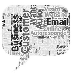 Ways to achieve online success with email vector