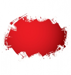 blood roller vector image