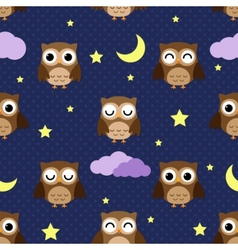 night owls vector image