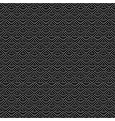 black and grey seamless pattern chinese vector image