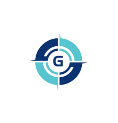 Compass guide initial g vector