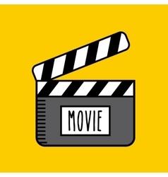 Entertaining movie vector