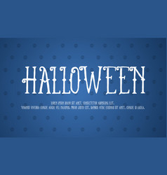 halloween background design collection vector image