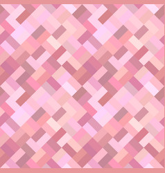 pink geometric diagonal rectangle mosaic tile vector image