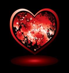Valentine's spalt vector image