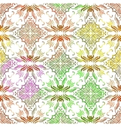 Vintage ornamental seamless pattern vector image