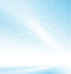 Abstract Blue Glowing Background vector image