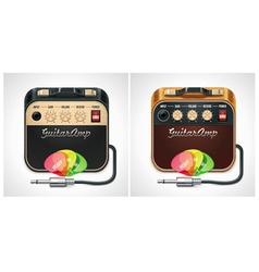 vector guitar amplifier icon vector image