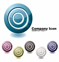 target variation icon vector image vector image