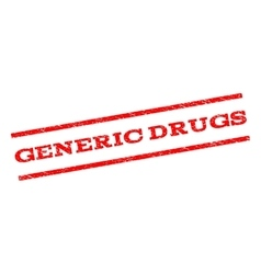 Generic Drugs Watermark Stamp vector
