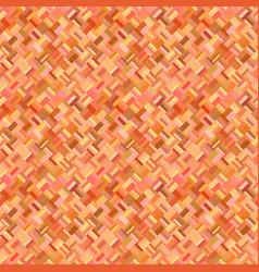 orange geometrical diagonal rectangular mosaic vector image