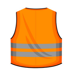 Safety vest iconcartoon icon vector
