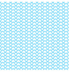 seamless traditional japanese seigaiha ocean wave vector image