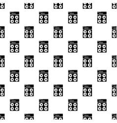 speaker box pattern seamless vector image