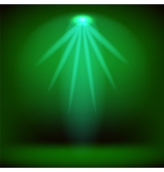 Stage Spotlight Background vector image