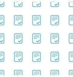 Unique Document seamless pattern vector