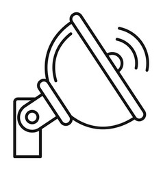 5g antenna icon outline style vector