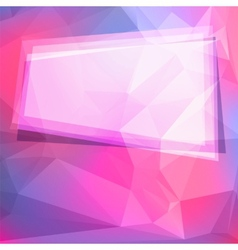 Abstract geometric background with polygons and vector image
