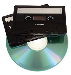 AudioCasetteCD vector