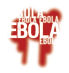 Ebola Virus Abstract Background vector image