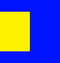 Flag of thonon-les-bains in haute-savoie of vector