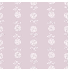 floral beautiful seamless pattern-hydrangea vector image