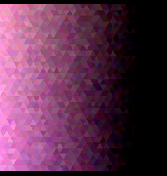geometric triangle tile pattern background vector image