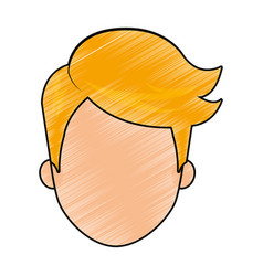 man head design vector image