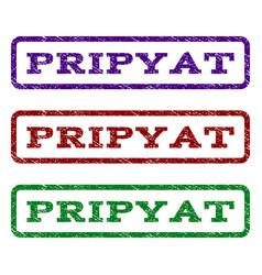 pripyat watermark stamp vector image