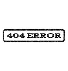 404 error watermark stamp vector image vector image