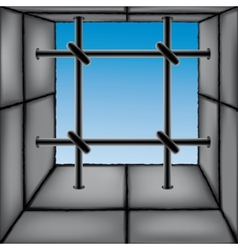 barred window vector image vector image