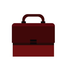 portfolio suitcase document icon vector image vector image