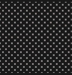 seamless pattern simple outline squares vector image vector image