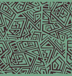 creative seamless pattern vector image