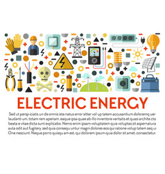Electricity power generation electric energy vector