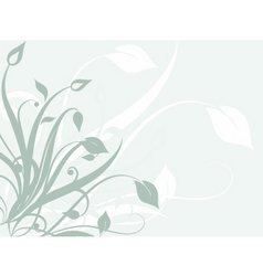 Floral abstract vector