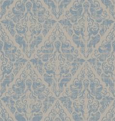 Grunge vintage floral seamless vector