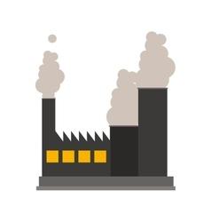 Industrial factory icon vector