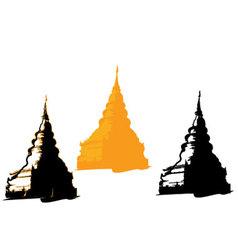 Pagoda Thailand Temple vector